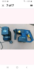 Cordless hammer SDS drill