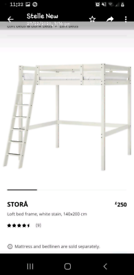 Ikea high bed