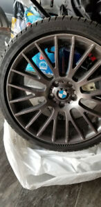 "BMW 20"" OEM Rims with Winter Tires"