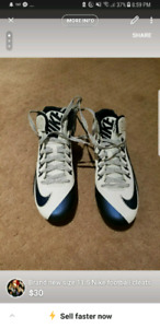 Brand new football cleats size 11.5