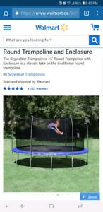 Skywalker 15' round Trampoline *NEW*