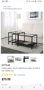 Ikea TV stand/Coffee table WHITE $25