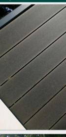 Composite decking 3m SALE ! Free clips , screws, corner pieces