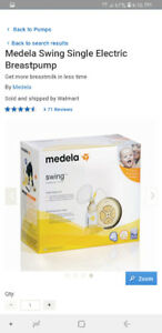Medela Swing Single Electric Breastpump.