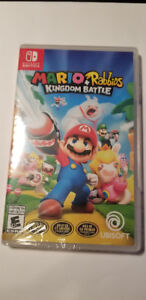 Mario + Rabbids Kingdom Battle Switch BRAND NEW sealed, NEUF