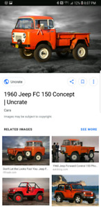 Looking for Jeep Fc 150 or 170