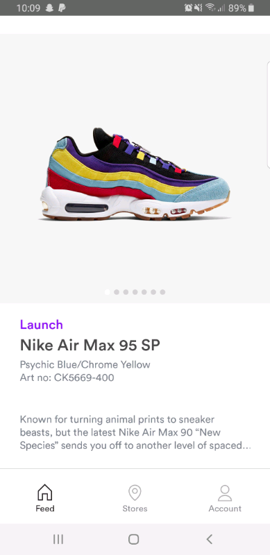 Shopping Special: Nike 'Air Max 95' trainers Multicolour