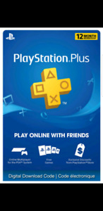 ps4 membership 12 months on sale $50