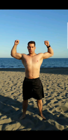 Fit Male Muscular Latin American Masseur