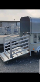 Aluminium gates, sheep pig goat livestock trailer loading gates
