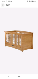 Mamas and Papas Ocean cot bed and drawers with changing unit