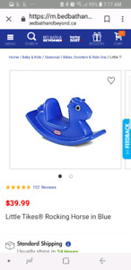Looking for rocking horse