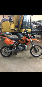 Ktm sx 65cc 2007 ! Trade for atv