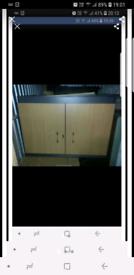 Lockable storage cabinet / wardrobe