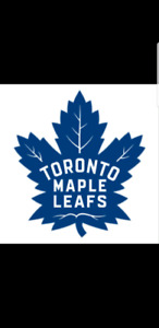 Leaf tix - X2 sets  vs. Boston Bruins & vs. Washington Capitals