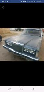 83 Lincoln town car