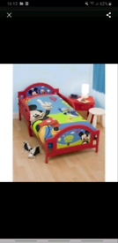 Mickey mouse club house toddler bed