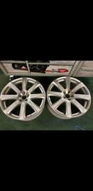 "2x genuine 20 ""Volvo xc90 alloy wheels"