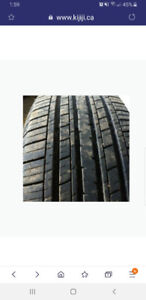 Wanted 17 and 19 inch SUV tires