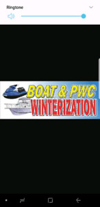 Seadoo and jet boat winterize