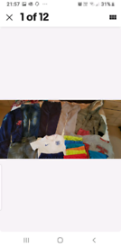 Bundle Boys Clothes Coat Trousers Shorts Tshirt PJs Knickers Age 3 To