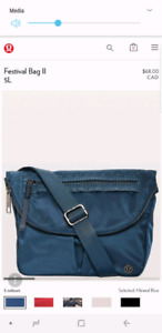 Lululemon cross-body Festival bag