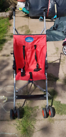 Pushchair, small day trip.