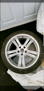 "CADILAC 18 ""RIMS ON MICHELIN WINTER TIRES"