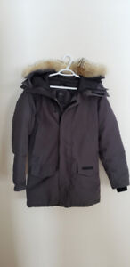 MENS LANGFORD BLACK LABEL CANADA GOOSE, SIZE SMALL, GRAPHITE