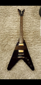 Slammer hamer flying v guitar NEW
