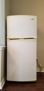 FULL SIZE WHIRPOOL GOLD  FRIDGE