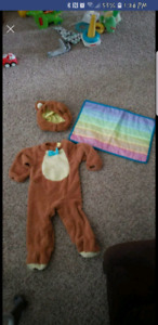 12 month teddy bear costume