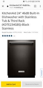 Brand new KitchenAid dishwasher!