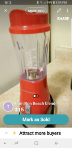 Hamilton Beach mini blender