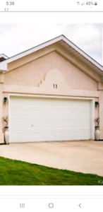 Double Garage door for sale - give me an offer