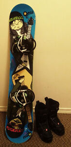 Junior (Kids) Snowboard package