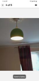 2 metal lampshade