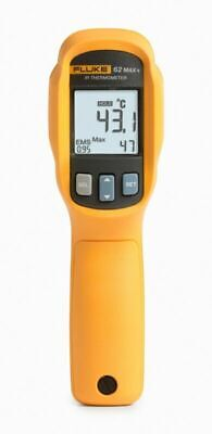Fluke 62 F62 Max Plus Infrared Thermometer -30c To 650c -22f To 1202f 62max