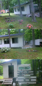 Trailer/RV with LOT for sale on Bob's Lake Co-Op, Ontario