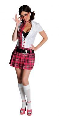 Schulmädchen School Uniform College Kostüm Kleid Damen Schuluniform Schüler Girl ()
