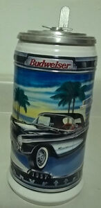 Budweiser Classic Car Series 1957 Chevy Corvette Stein
