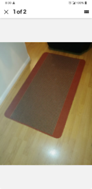 Rug with rubber anti slip