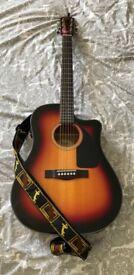 Fender Electro Acoustic CD-60CE SB-DS-V2 guitar