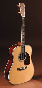 Sigma DR 41 Acoustic Guitar with Hard  Shell case