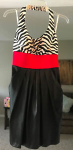 Zebra Dress for Sale- Worn Once!