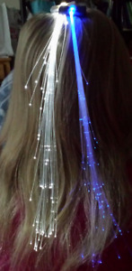 """Hair Accessory """"Fireworks"""" Barettes Light Up Your Hair"""