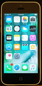 White IPhone 5C Unlocked- Excellent Used Condition