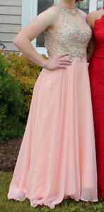 Blush prom dress size 6
