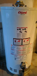 Giant 50 gallon conventional gas water heater tank