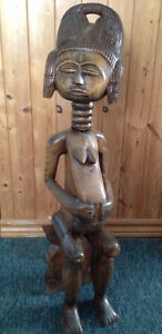 Ghana West African Large  Carving